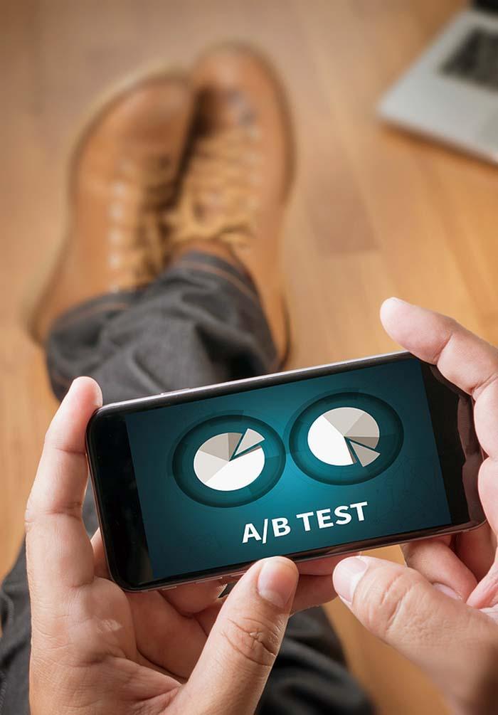 a/b marketing test
